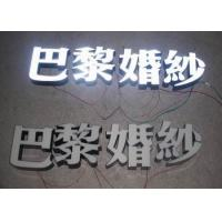 Wholesale Commercial Resin 3D LED Letters Advertising Sign For Lighting Up Your Store Name from china suppliers