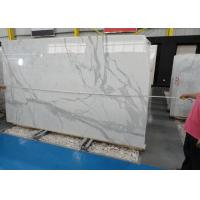 Wholesale Morden Design Italy Calacatta Marble Slab , Marble Wall Slab 20mm Thickness from china suppliers