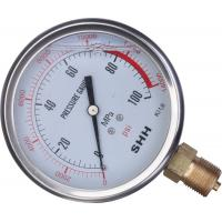 Wholesale 700 Bar Hydraulic pump Pressure tester Oil Gauge HG-700 from china suppliers