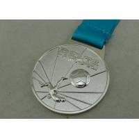Wholesale Customized Ribbon Football Awards Medals Full Relief Zinc Alloy from china suppliers