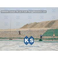 Wholesale Double-Twisted Hexagonal Gabion Mesh , PVC Coated Stone Gabion Fence from china suppliers
