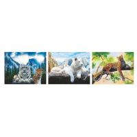 Wholesale Wild Animal Flip Effect 3D Lenticular Printing Services PET/PP Lenticular Picture from china suppliers