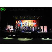 Wholesale indoor Stage Background Led Display / 3.91mm Pixels Led Full Color Display from china suppliers