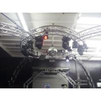 Wholesale Bolt System Aluminum Lighting Circle Truss / LED Screen Truss from china suppliers