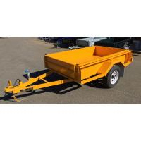 Wholesale Painted 750KG Tandem Box Trailer , Heavy Duty  7 X 5 Box Trailer from china suppliers