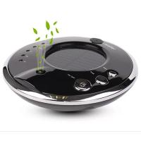 Quality Round Solar Powered Car Air Purifier Freshener Vehicle Air Cleaner Auto Aromatherapy Car Ozone Generator China Factory for sale
