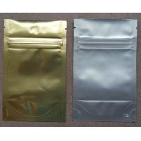 Wholesale Aluminum Foil Ziplock Bags / Stand Up Packaging Pouches For Seeds from china suppliers