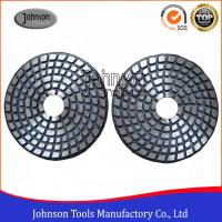 Wholesale 4 Inch Metal Bond Diamond Polishing Pad , Polishing Tools for Stone and Concrete from china suppliers