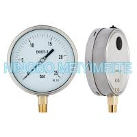 Wholesale Shrink Stainless Steel Ring Pressure Gauge Hydraulic With Blow Out Disc Sealing Type from china suppliers