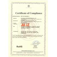 Guangzhou Jiale Electronics Co.,Ltd Certifications