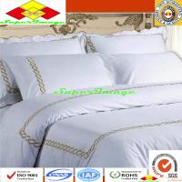 Buy cheap Pure Cotton Embroidery Hotel Bedding Set from wholesalers