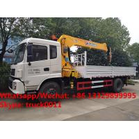 Wholesale 2018s high quality and good price Dongfeng imitated tianjin 8tons telescopic boom mounted on cargo truck for sale from china suppliers