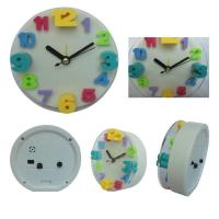 Wholesale Round digital clock with glass from china suppliers