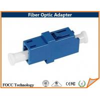 Wholesale LC Snap in Simplex Singlemode Fiber Optic Adapter With Phosphor Bronze Sleeve from china suppliers
