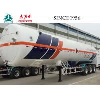 Wholesale Durable 3 Axle LNG Tank Trailer Vacuum Insulation Type 30-60 M³ Capacity from china suppliers