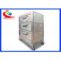 Wholesale Commercial Bakery Oven / Bread Oven Electric with 3 layers 6 pans from china suppliers