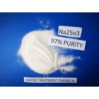 Buy cheap High 97% Purity Sodium Sulfite Food Grade Vegetable Preservative Bleaching Agents from wholesalers