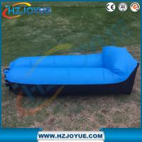 Wholesale New design!!!Fast Inflatable Air Bag Sofa Outdoor plastic folding sun inflatable air lounger with pillow from china suppliers