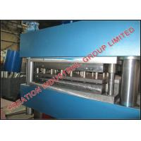 Quality Galvanized Steel Highway Guardrail Manufacturing Production Line with Strong Strength for sale