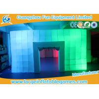 Wholesale 8.5*6*3M Inflatable Air Tent , Inflatable Colorful Tent With LED Lights from china suppliers