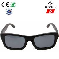 Wholesale Fashionable Rectangular Male And Femal Maple Wood Sunglasses With Sustainable Frame from china suppliers