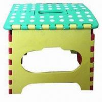 Wholesale PP Material Folding Stool in Various Colors, with 120kgs Load Capacity from china suppliers