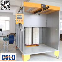 Wholesale Two Fliters Manual Powder Coating Booth For Car wheel And Bike Parts from china suppliers