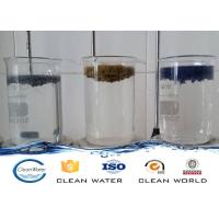 Wholesale Paint dust flocculant for Spraying sewage treatment Clear liquid with light blue A B agent from china suppliers