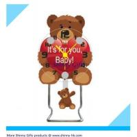 Wholesale Teddy B ear design unique desk clock  from china suppliers