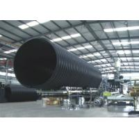 Wholesale Underground HDPE Double Wall Corrugated Drainage Pipe With Large Diameter from china suppliers