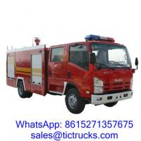 Wholesale 3100L 190HP Fire Fighting Vehicle 4x 2 ISUZU for sale from china suppliers