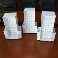 Wholesale New white/black Acrylic Cosmetic organizer makeup drawers Display from china suppliers
