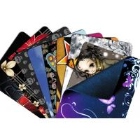 Wholesale Thick custom printed Cloth Mouse Pad with Natural Rubber foam Silk - screen from china suppliers