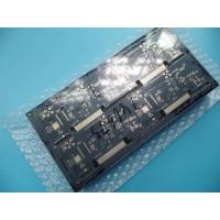 Quality Black Gold Multilayer Pcb 245℃ 5 Seconds 1 Cycle Solderability / White Silkscreen Pcb Board for sale