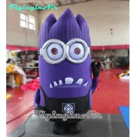 Wholesale 2m Height Mutated Inflatable Minion for Shop and Outdoor Decor from china suppliers