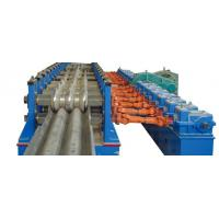 Wholesale Baffle Highway W Beam Guardrail Roll Forming Machine Panasonic PLC Automatic Control from china suppliers