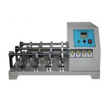 Wholesale Flexing Resistance Testing Machine , Leather Crumpling Resistance Tester Six Station from china suppliers