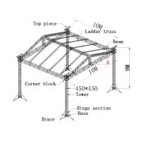 Wholesale 450x450mm aluminum truss system, aluminum spigot truss for outdoor show from china suppliers