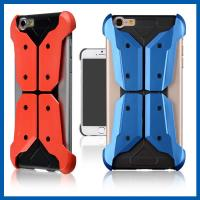 Wholesale Dual Layer Iphone 6 Plus Protective Case With Shock Absorptive Inner Layer Hard Back from china suppliers