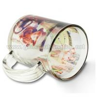 Quality 11oz Glass Sublimation Mug_Custom Mug for sale