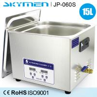 Wholesale 15 L Stainless Steel Commercial Benchtop Ultrasonic Cleaner 200w Heated Soaking Tank from china suppliers