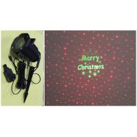 """Wholesale Outdoor Red Firefly Landscape Laser +""""Merry Christmas"""" letter Logo (Green) from china suppliers"""