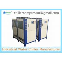 Wholesale 21kw Air Cooled Water Chiller Food Grade Milk Chilling Plant with Ice Water Tank from china suppliers