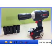 Wholesale Portablely adjustable electric torque impact wrench,rechargeable wrench from china suppliers
