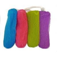 Wholesale Exfoliating Mesh Soap Saver Pouch (4pk)(Color Assorted) from china suppliers