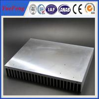 Wholesale Industrial aluminum radiator profile /anodized aluminum extrusion heatsink for industry from china suppliers