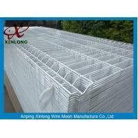 Wholesale Bus Station Triangle Curved Wire Mesh Fence Diameter 3.8 - 4.0mm PVC Dipped Coating from china suppliers