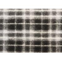 Wholesale Waterproof Wool Jersey Knit Fabric Plaid Woolen Dress Material from china suppliers