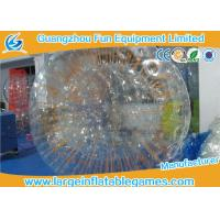 Wholesale Clear TPU Snow Zorb Inflatable Ball , Giant Hamster Ball For Outdoor Activities from china suppliers