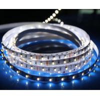 Quality 60leds / m portable two color LED strip light , color changing super bright led strip 12v outside for sale